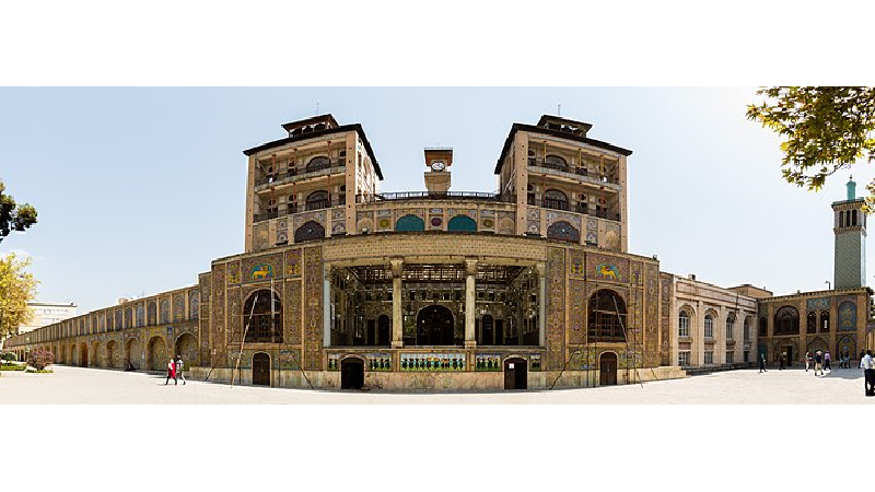 تاریخچه شمس العماره در کاخ گلستان تهران