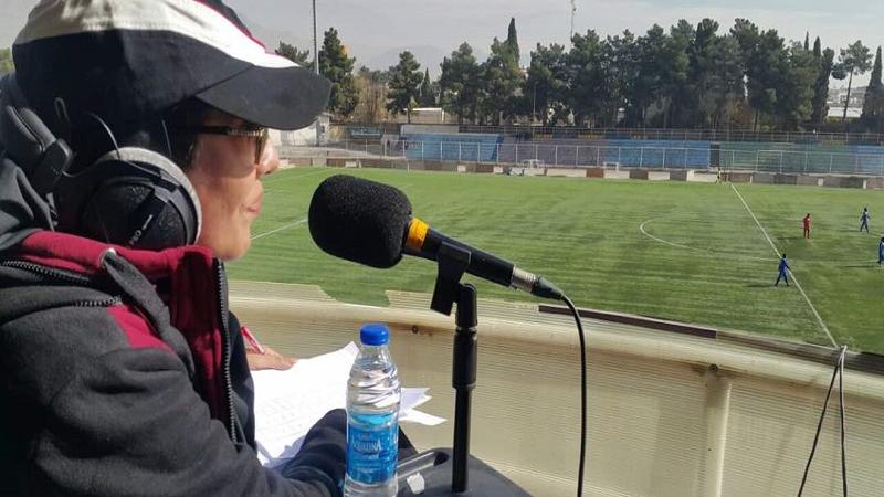 بیوگرافی کامل فرنوش جعفری اولین زن گزارشگر فوتبال در ایران؛ از شاگردی خسرو والیزاده تا طرفدار عادل فردوسی پور