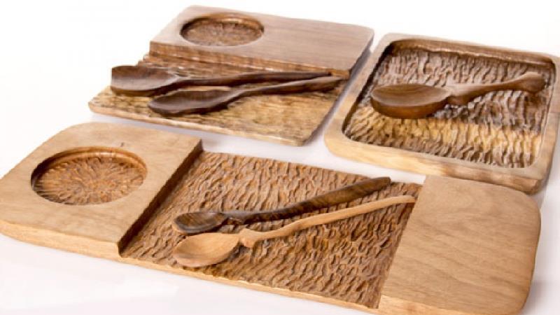 ظروف چوبی آشپزخانه را چطور تمیز و نو کنیم