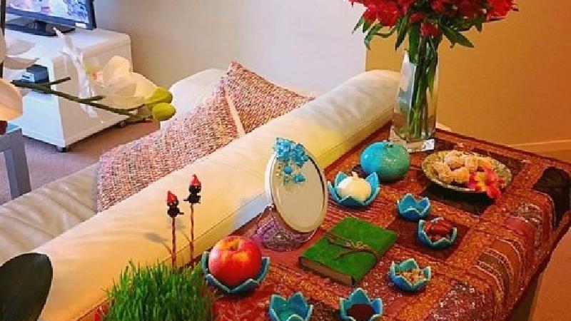 هفت سین های سنتی نمای خانه شما را نوروزی میکند