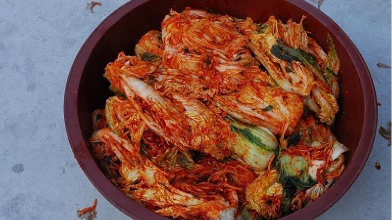 دستور پخت غذای کره ای کیمچی چگونه است