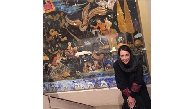 سحر جعفری جوزانی بازیگر نقش ایران نخجوان در سریال در چشم باد