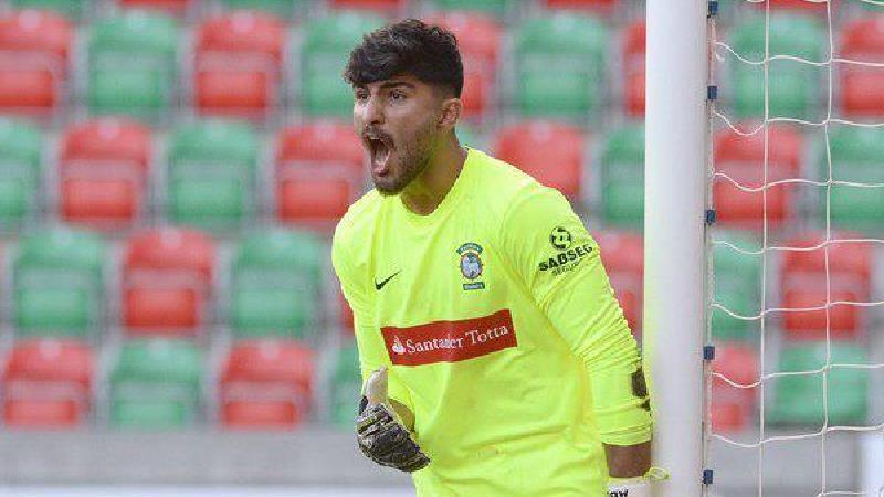 امیر عبادزاده در پرتغال برای پیشرفتش تلاش می کند