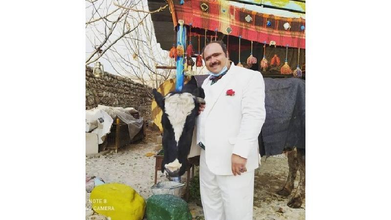 کاظم نوربخش بازیگر نقش سلمان در سریال نون-خ