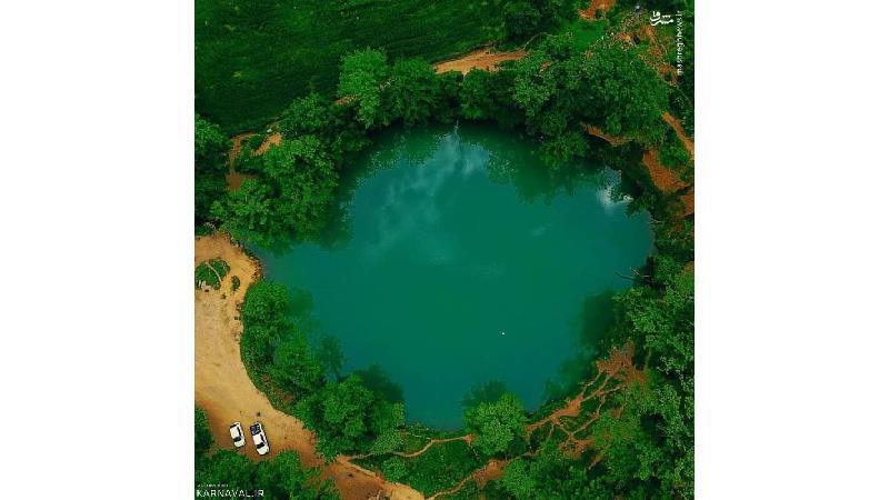 در دریاچه گل رامیان شنا نکنید