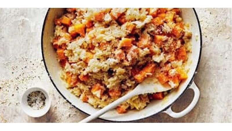 کدو پلو از غذاهای رایج در مازندران است