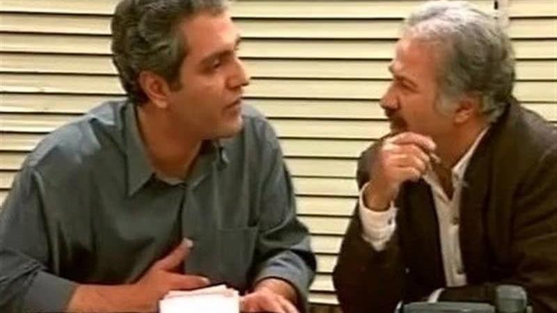 سعید پیردوست و مهرام مدیری در سریال پاورچین