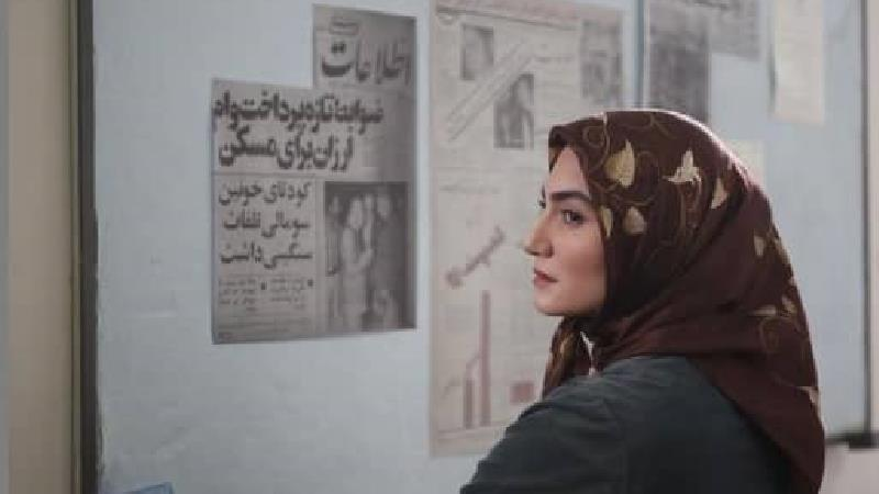 سنا پورسعیدی بازیگر نقش سارا در سریال جلال
