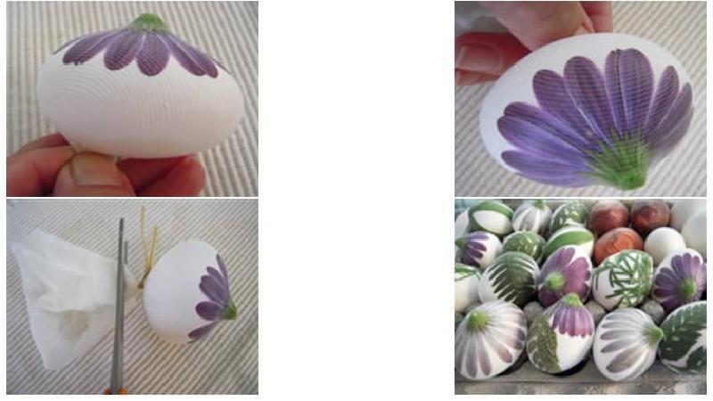 روش درست کردن تخم مرغ رنگی عید را یاد بگیرید