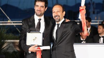 شهاب حسینی و اصغر فرهادی
