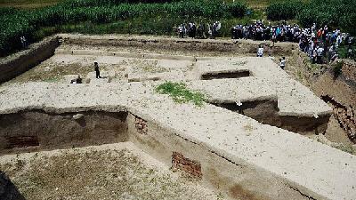 دیوار گرگان ؛ شبیه به دیوار چین