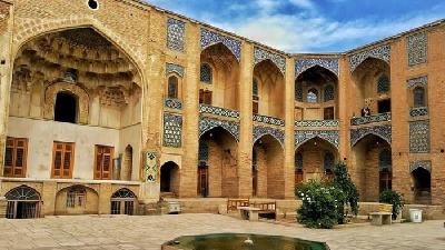 مسجد گنجعلی خان ؛از زیباترین مکانهای تاریخی کرمان