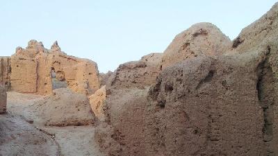 قلعه دختر کرمان را از نزدیک ببینید