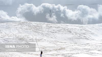 پیست اسکی بینالمللی دیزین گزینه همیشگی برای روزهای برفی
