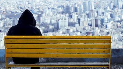 تماشای برف در بام تهران