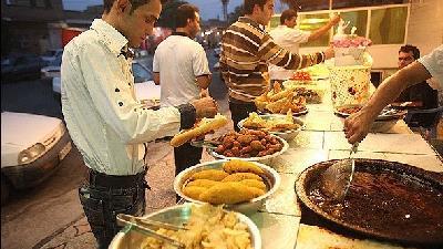 بازار فلافل اهواز در لشگرآباد