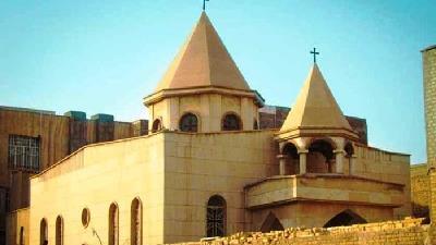 کلیسای سورت مسروپ از جاهای دیدنی اهواز