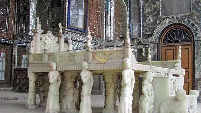 آشنایی با تخت مرمر در کاخ گلستان