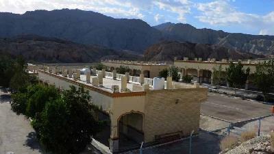 دیوار سدار از آثار تاریخی بندر خمیر