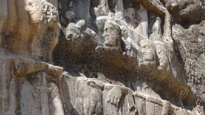 شهر تاریخی بیشاپور در کازرون