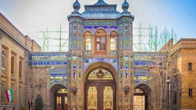 باغ ملی از مکان های تفریحی تهران
