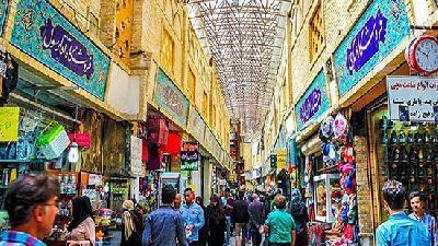 بازار تجریش از دیدنی های تهران
