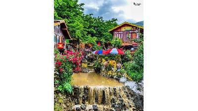 عکسی از روستای جواهر ده در شهرستان رامسر