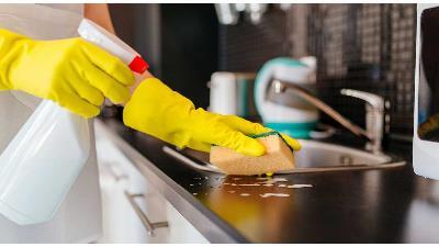 آشپزخانه را چه طور تمیز کنیم
