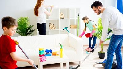 خانه تکانی را دسته جمعی انجام بدهید