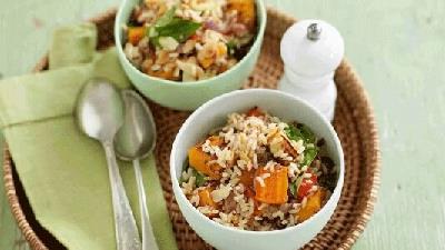 برنج قهوه ای را با چه غذاهایی می خورند