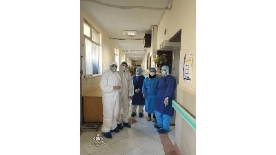 بیمارستان مسیح دانشوری در روزهای کرونایی
