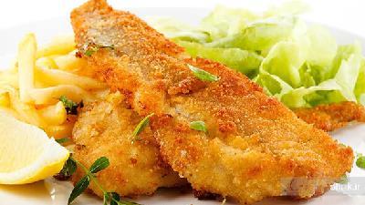 دستور پخت شنیسل ماهی