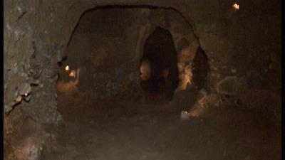 عکس هایی از شهر زیرزمینی کرد علیا  در استان اصفهان