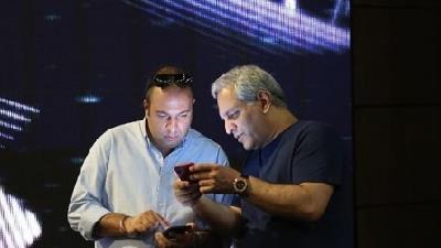 مهران مدیری و علی اوجی