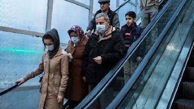 طرح فاصله گذاری اجتماعی در تهران