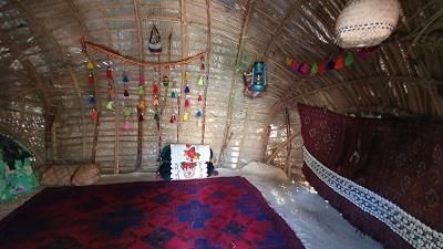 خانه های کپری در روستای کشیت قلعه گنج