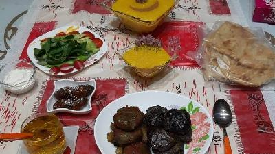 وعده غذایی مناسب برای ماه مبارک رمضان چگونه است