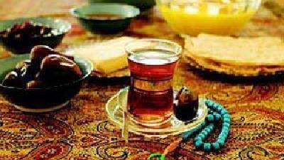 سفره سحری در ماه مبارک رمضان