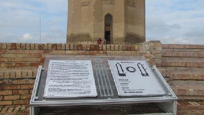 برج گنبد قابوس بنایی تاریخی در شهر گنبد طاووس