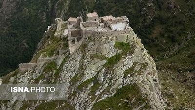 قلعه یا دژ بابک در دوران ساسانیان ساخته شده است