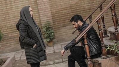 سینا مهرداد و نیکی کریمی در سریال آقازاده