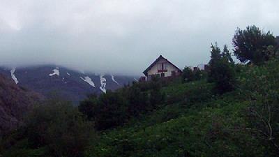 منظره روستای لالن بی نظیر است