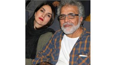 مرجان شیرمحمدی در کنار بهروز افخمی