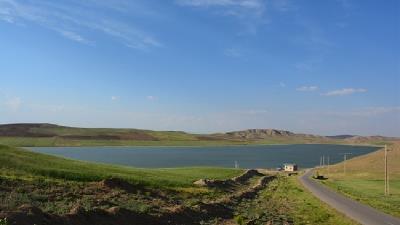 دریاچه پری از دیدنی های منطقه ماهنشان زنجان است