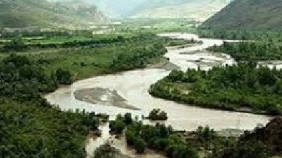 رودخانه قزل اوزن طولانی ترین رودخانه ایران است