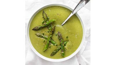 سوپ مارچوبه را چگونه می توانیم بپزیم