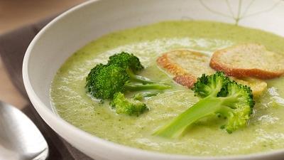 سوپ کلم بروکلی را چه طور درست کنیم