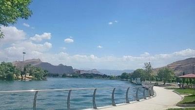 دریاچه کیو بسیار تماشایی است