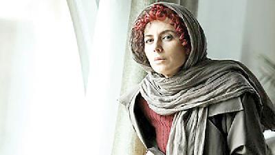 لیلا حاتمی در سریال نهنگ آبی