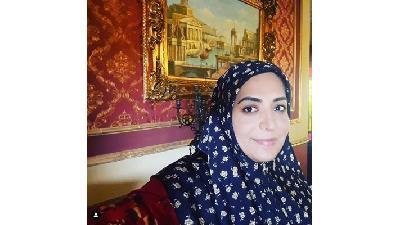 ساناز سماواتی بازیگر نقش دلربا در سریال بوم و بانو